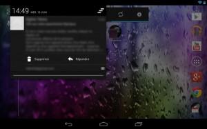 Capture d'écran de Gmail