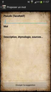Suggestion d'un mot