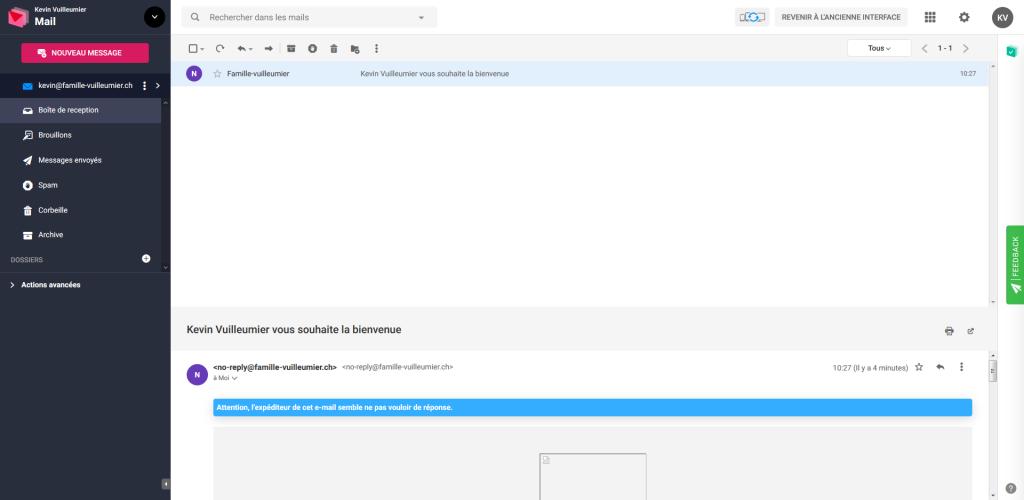 Webmail Infomaniak